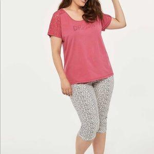 Printed Cotton Pyjama Capri - ti Voglio